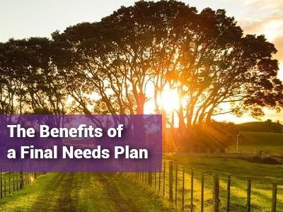 Final Needs Planning